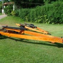 Carretas Rodoviarias e Rodoencalho para Lanchas e Jet 1